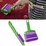 Reusable Sticky Buddy Carpet Clothes Lint Fur Remover Cleaner Roller Brush New Arts and Home Accessories eMarkooz(TM)
