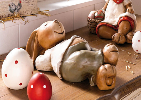 Easter Bunny Laying Sleeping Decoration Idea Amazon