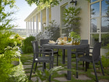 Keter Quartet Outdoor Dining Table - Graphite