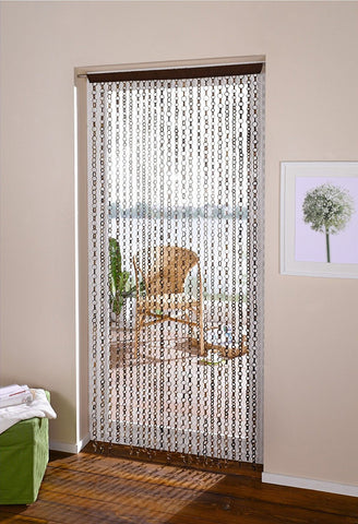 Rings Chain bamboo door curtain, bamboo curtain Amazon
