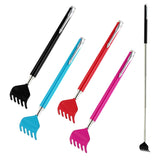 New Back Scratcher Telescopic Extendable Handy Portable Metal Clip Novelty Pen eMarkooz