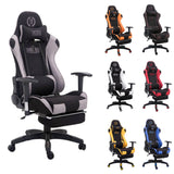 Racing Gaming Chair Office Chair High Back Executive Chair with Footrest (Mesh Chair) eMarkooz