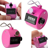 4 Digit Hand Held Manual Clicker, Digital Click Counter, Counting mechanical tally palm new arts and home accessories