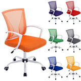 Home & Office Computer Chair Desk Chair Swivel Mesh Chair Adjustable Chrome Chair