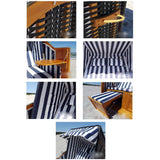 Garden Outdoor Patio Beach Folding Recliner Double Sun Lounger Bed Seat Pair Hammock Furniture