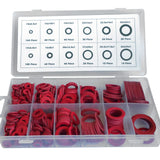 Fibre Washer Set, Assorted Fibre Seals, Various Sizes 600 Sealing Washers, (Emarkooz)