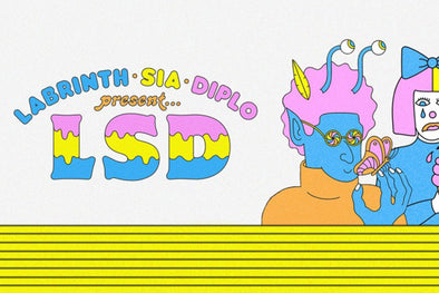 "Diplo, Sia, And Labrinth Create SUPERGROUP - LSD - Drop New Track ""Genius"""