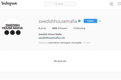 Swedish House Mafia Wipe Their Instagram Account - Hype Or Drama?