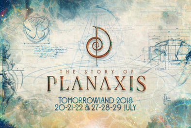 "Tomorrowland 2018 Festival Theme ""PLANAXIS"""
