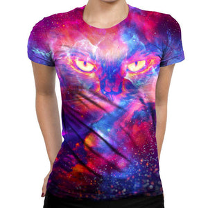 Kitty Womens T-Shirt