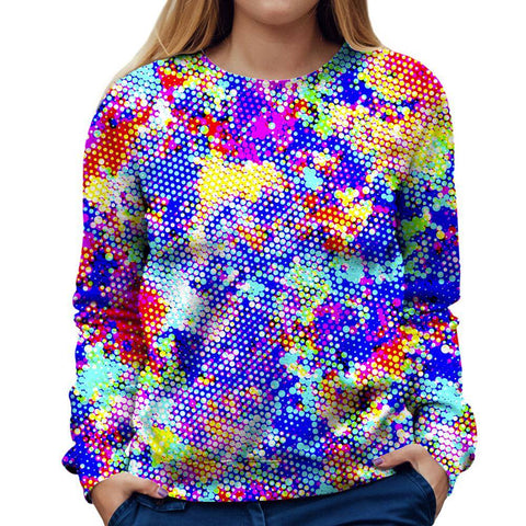 Image of Abstract Womens Sweatshirt