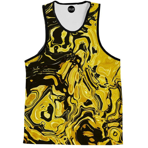 Yellow Flow Tank Top