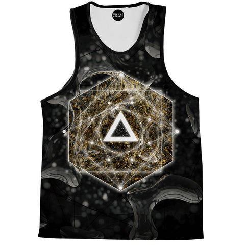 Dark Geometry Tank Top