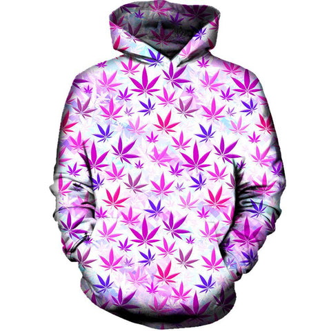 Image of Colorful Weed Hoodie