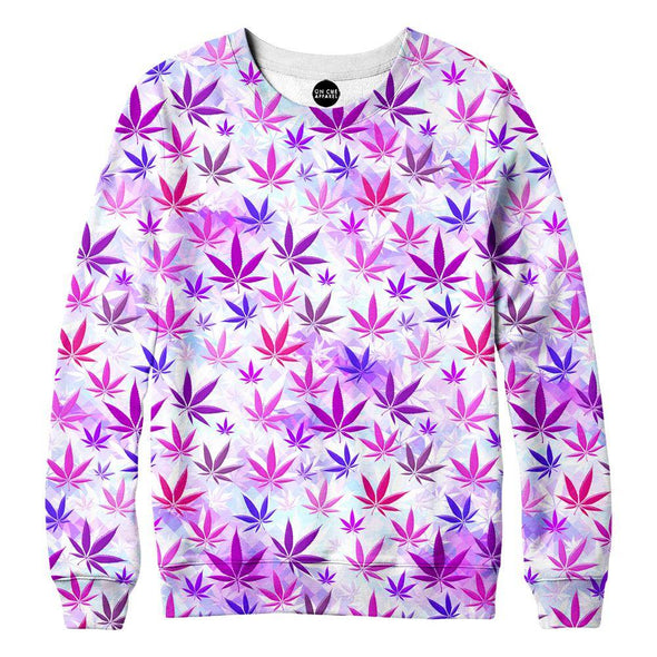 Colorful Weed Sweatshirt