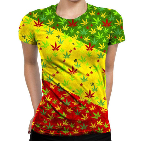 Weed Womens T-Shirt