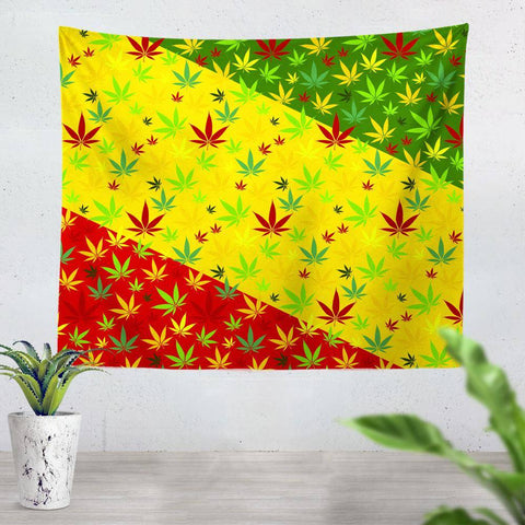 Weed Tapestry