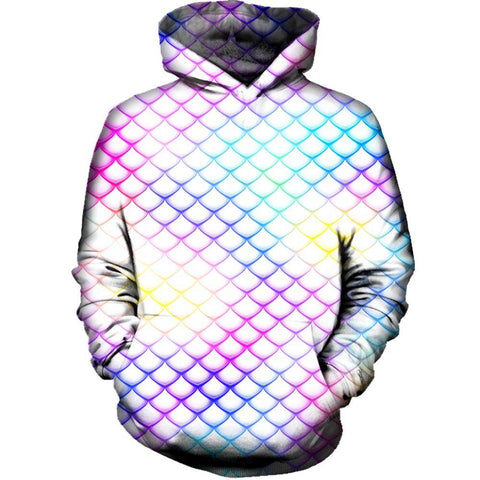 Image of Colorful Dragon Scales Hoodie