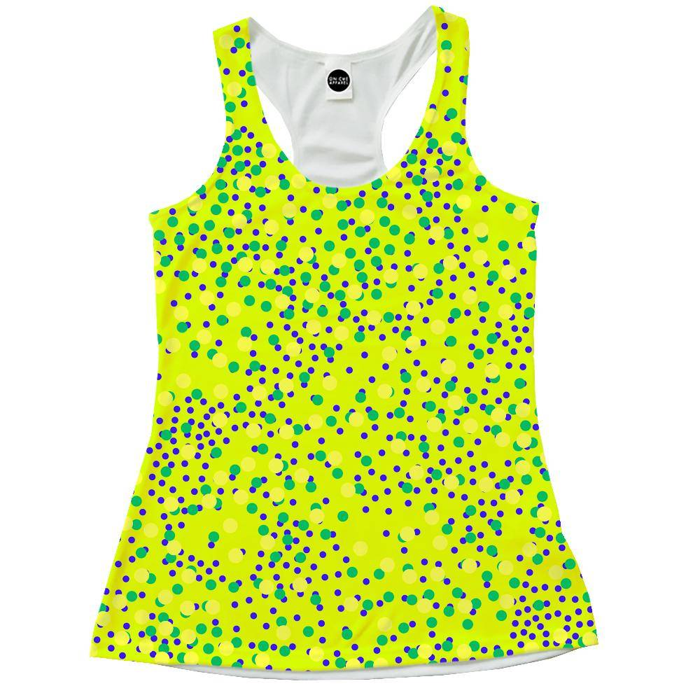 Mixed Dots Racerback