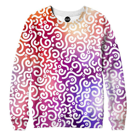 Image of Abstract Rotation Womens Sweatshirt
