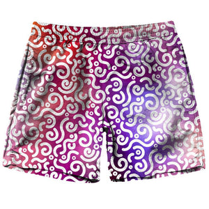 On Cue Apparel Abstract Rotation Shorts