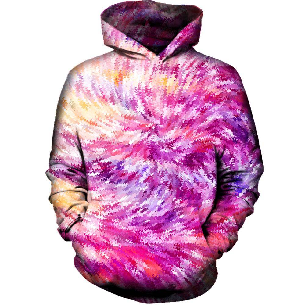 Squiggly Colors Womens Hoodie