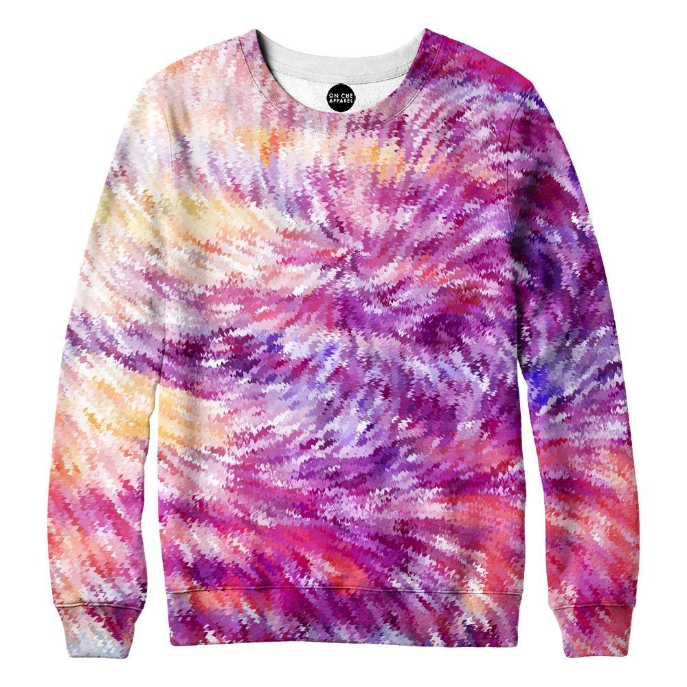 Squiggly Colors Womens Sweatshirt