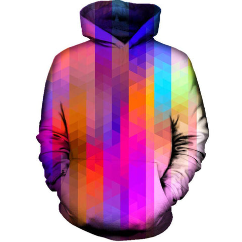 Image of Triangle Pixels Hoodie