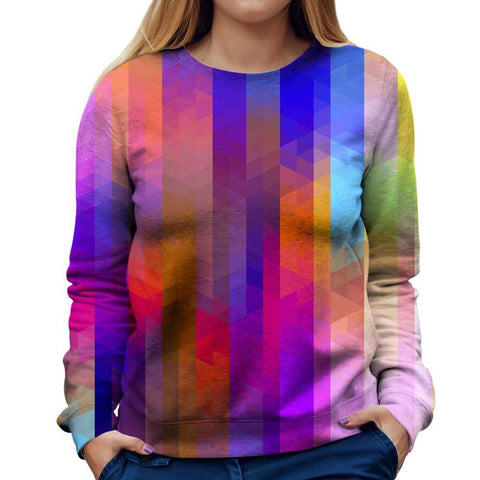 Image of Pixels Womens Sweatshirt