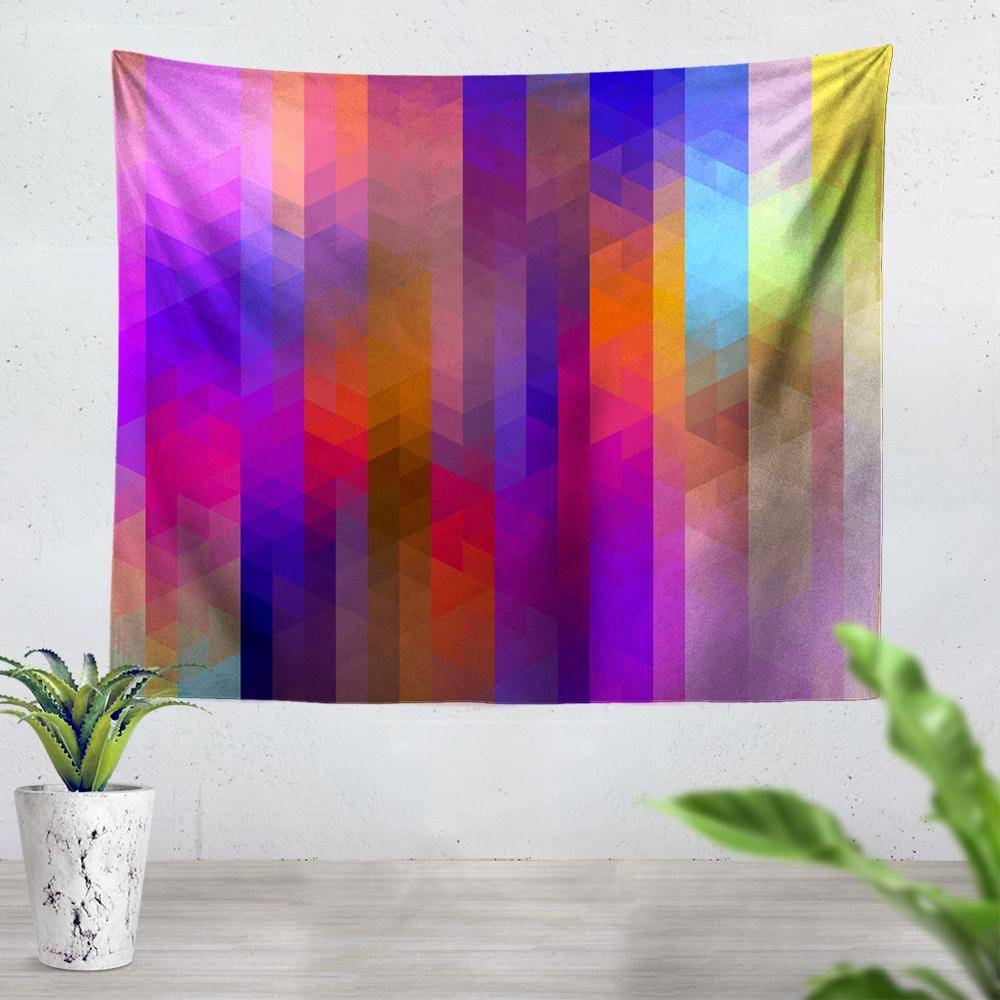 Pixels Tapestry