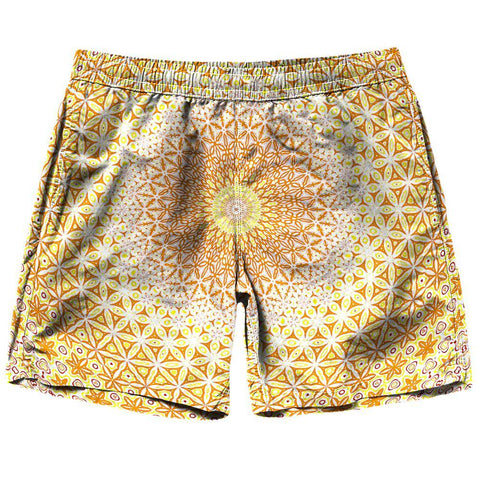 Image of Abstract Flower Shorts