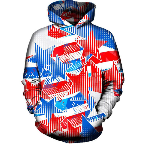 Image of USA Star Womens Hoodie
