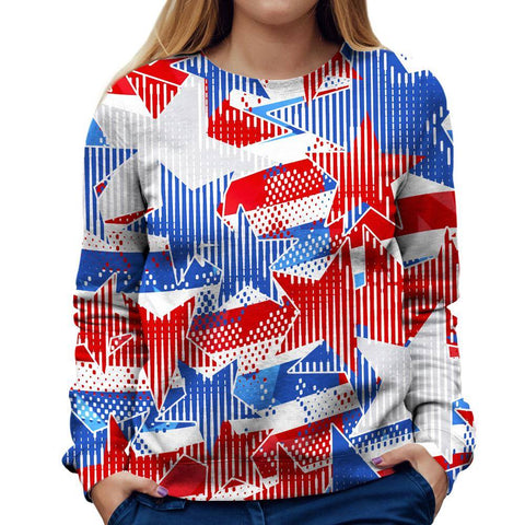 USA Womens Sweatshirt