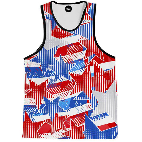 USA Star Tank Top