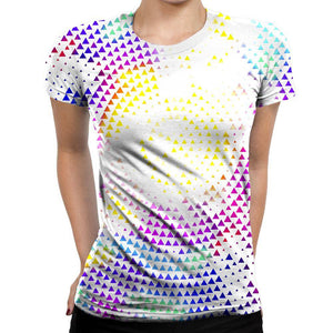 Disco Ball Womens T-Shirt