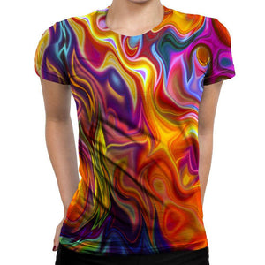 Psychedelic Womens T-Shirt