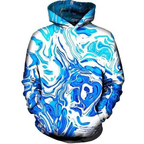 Image of Abstract Liquid Womens Hoodie