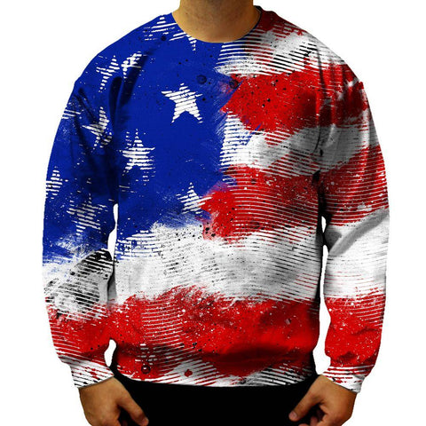 Image of American Flag Sweatshirt
