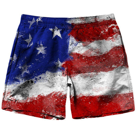 Image of American Flag Shorts