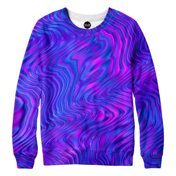 Purple Love Womens Sweatshirt