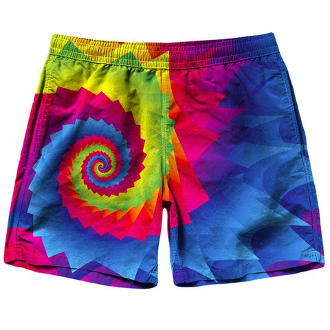 Image of Tie Dye Shorts