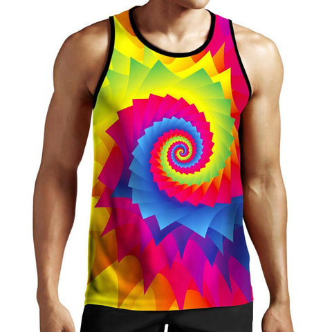 Image of Tie Dye Tank Top