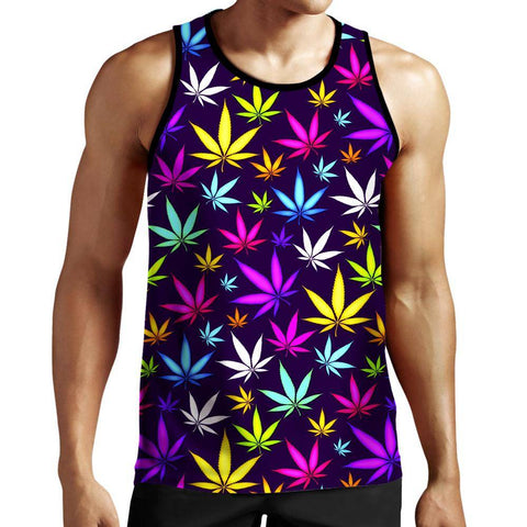 Image of Weed Tank Top