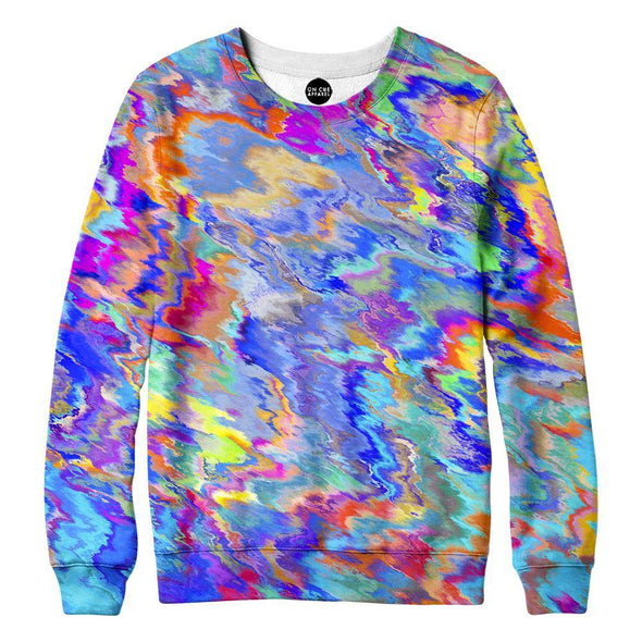 Paint Splatter Womens Sweatshirt