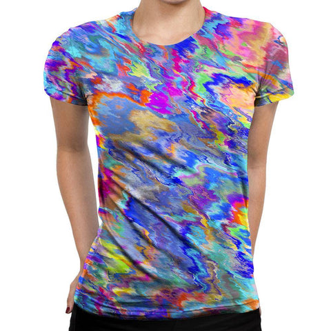 Image of Paint Womens T-Shirt