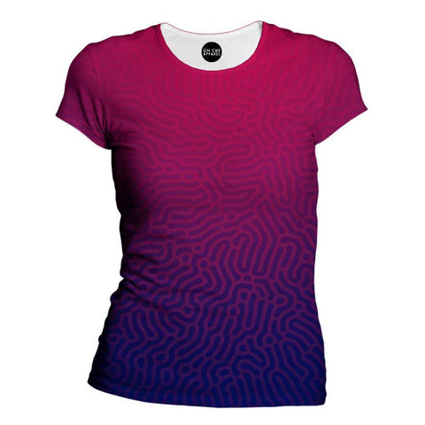 Faded Womens T-Shirt