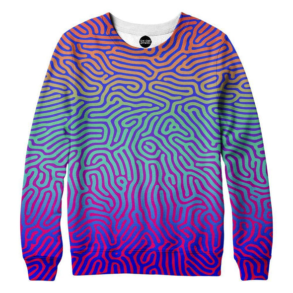 Fingerprint Womens Sweatshirt