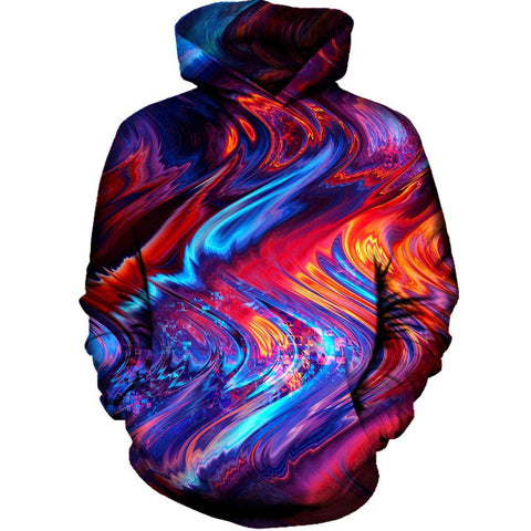 Image of Red Beams Hoodie