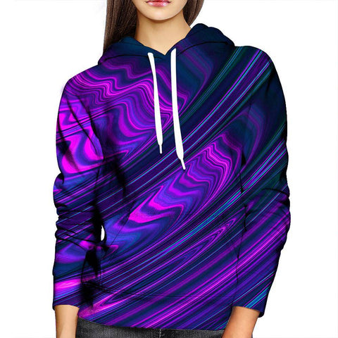 Image of Waves Womens Hoodie