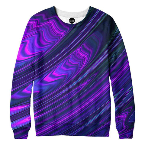 Purple Waves Sweatshirt